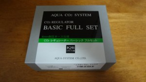 AQUA CO2 SYSTEM BASIC フルセット